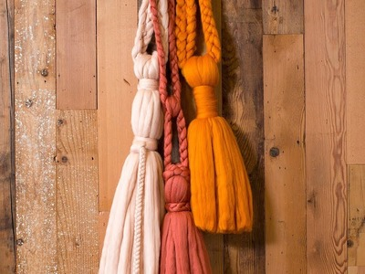 How to Make a Hanging Wall Tassel | Sunset