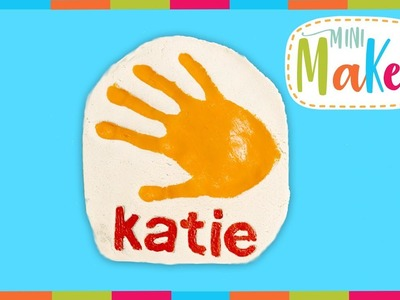 How to Make A Mother's Day Hand Print Tile | Mini Makes | Arts and Crafts