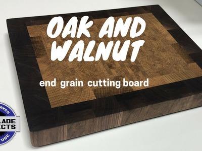 How to make a OAK and walnut CUTTING BOARD?