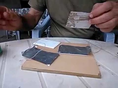 How to  make a Rechargeable Battery Using Aluminium at Home
