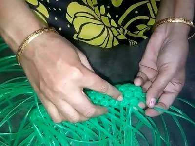 How to make amla knot purse - Part - 3