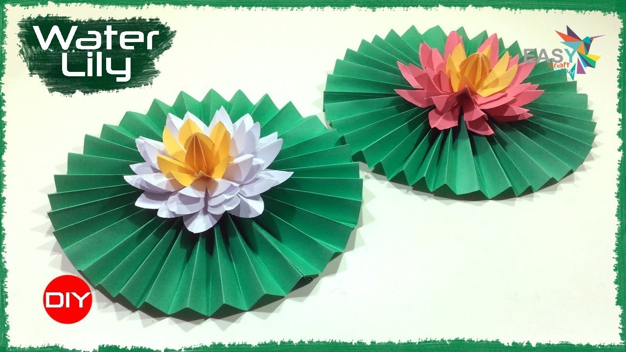 How To Make Beautiful Paper Flower Lotus Flowers Healthy