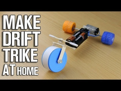 How to Make Drift Trike at Home