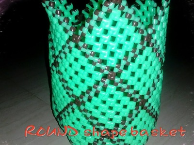 How To Make Round Shape basket Part 2