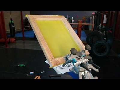 How To Make Screen Printing  Frames
