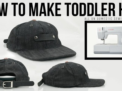 How to Make Toddler Hat