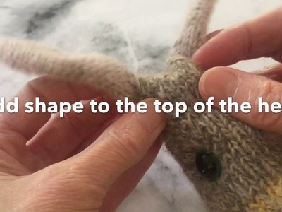 How to make up the Rabbit from my pattern