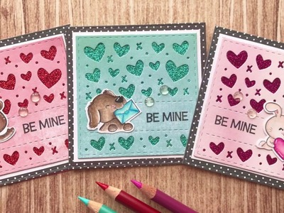 How To Make Valentines Using Coloured Pencil | Your Next Stamp | Stamp Create Repeat