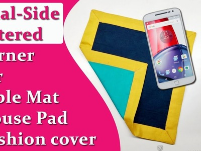How to sew Mitered Corner ,for table mat, cushion cover,duppatta boarder
