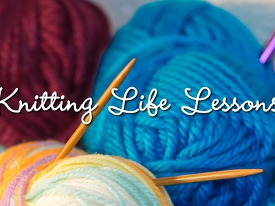 Knitting Life Lessons at Little Run Elementary School