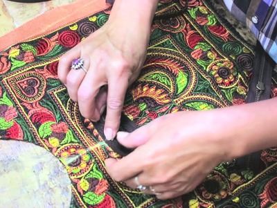 See How It's Made - Hill Tribe Textile Handbags from Thailand