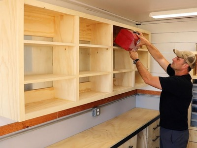 Shop Shelving using French Cleats - Easy How To