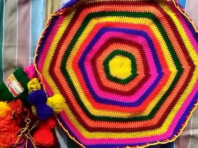 THALPOSH    how to make thalposh    Crochet