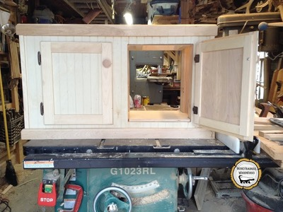 Woodworking : Make And Install Partial Inset Cabinet Doors. How -To