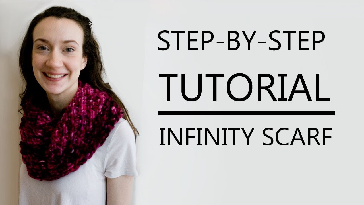Beginners Guide to Knitting an Infinity Scarf | Step-by-Step Tutorial