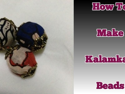 DIY Kalamkari Beads. How to Make Kalamkari Beads