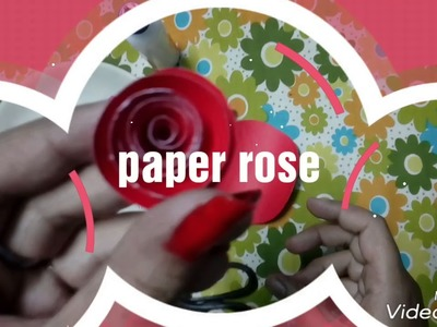Quilling diy paper rose quilling rose easy rose diy paper rose diy paper rose quilling rose easy rose mightylinksfo