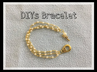 DIYs Bracelet.How to make bracelet