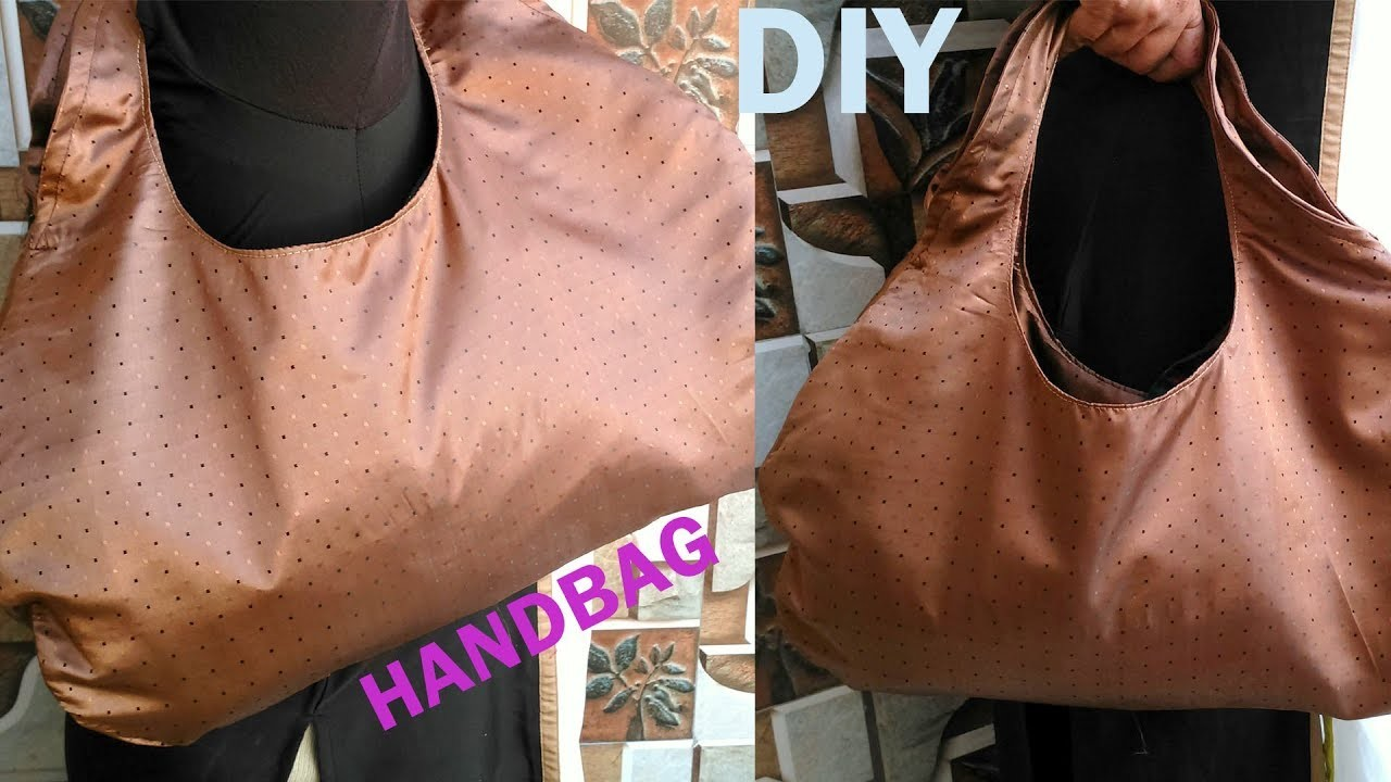 Handbag DIY   How to make handbags at home   handbag making at home