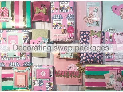How I decorate a swap package