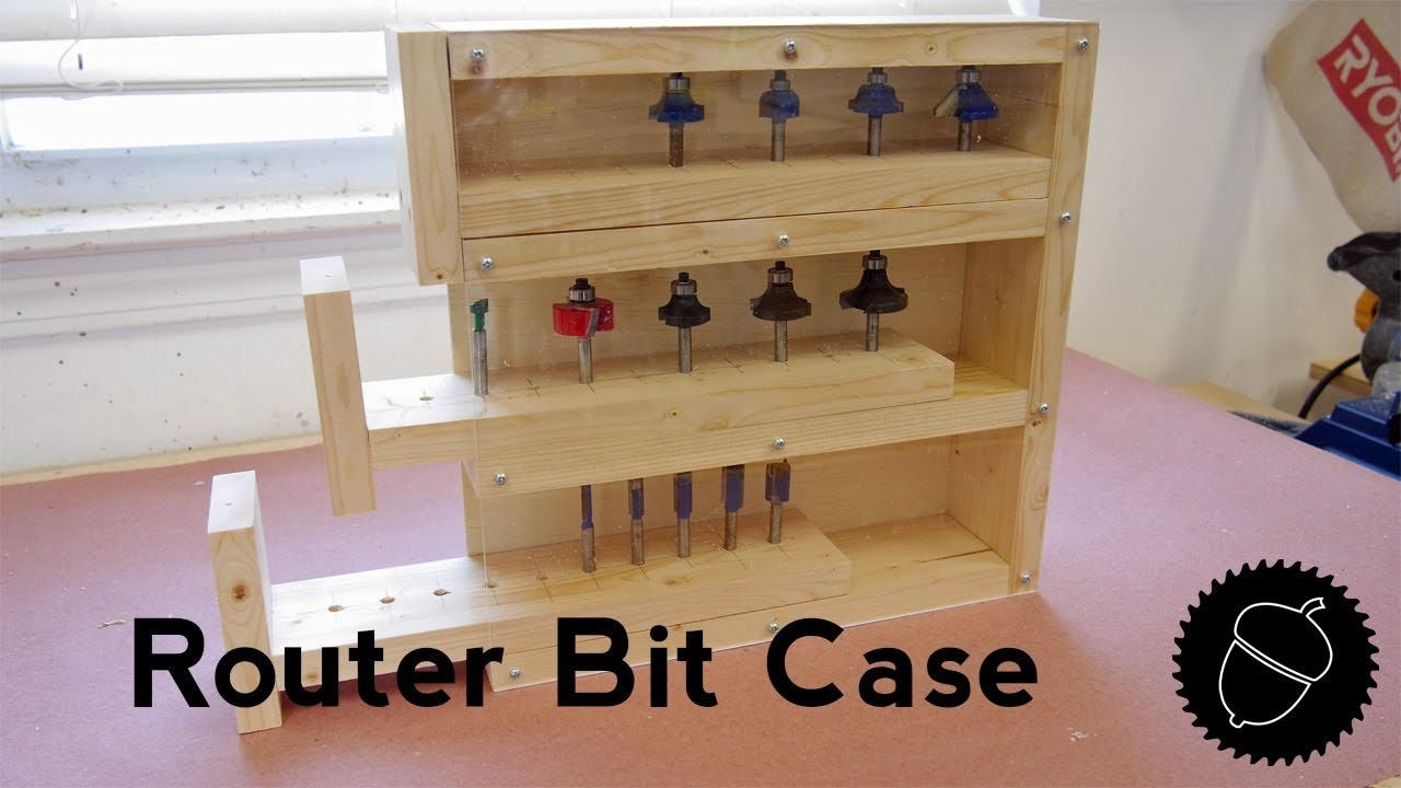 How to Build a Router Bit Case | Holds 30 Bits!