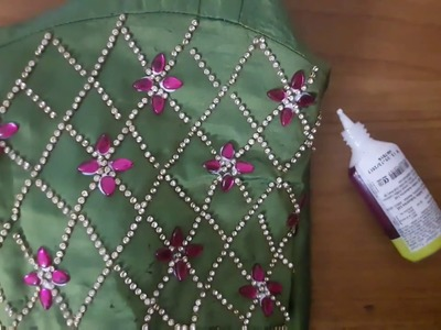 HOW TO CONVERT OLD BLOUSE INTO DESIGNER BLOUSE IN LESS THAN 200 RS.