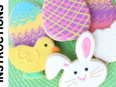 How To Decorate Cookies for Easter - Easy Easter cookies