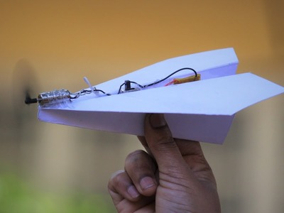 How To Make a airplane - paper airplane