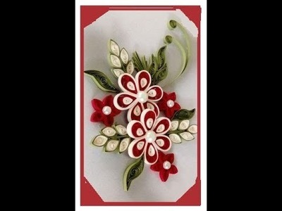 How to make a beautiful wall frame. DIY paper quilling art