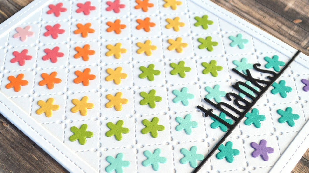 How to make a cute quilted card