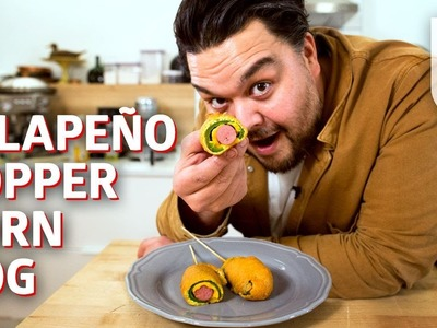 How to Make a Jalapeño Popper Corndog Mashup — You Can Do This!