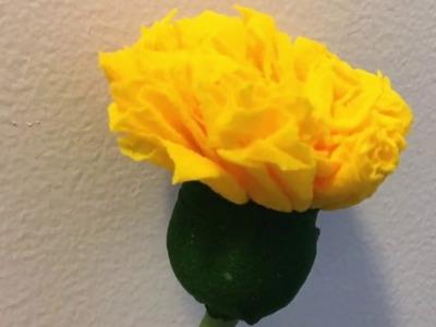 How to make a nylon stocking flowers - MarigoldH