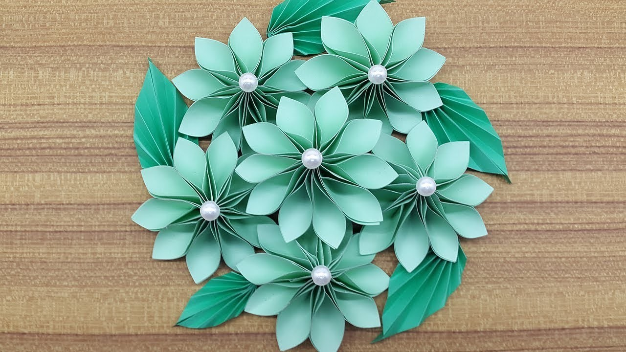 How to make a paper flowers bouquet making paper flower step by how to make a paper flowers bouquet making paper flower step by step complete tutorial izmirmasajfo