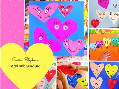 How to Make a Paper Heart in Kindergarten!