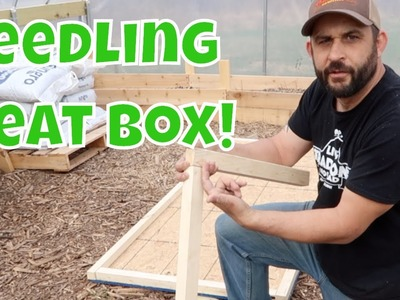 How to Make a Seedling Heat Box!  Protect Your Seedlings from the Cold.