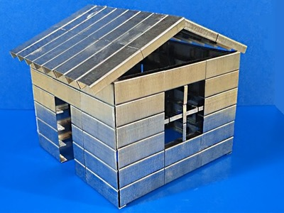 HOW TO MAKE A SMALL HOUSE With Staples For Stapler