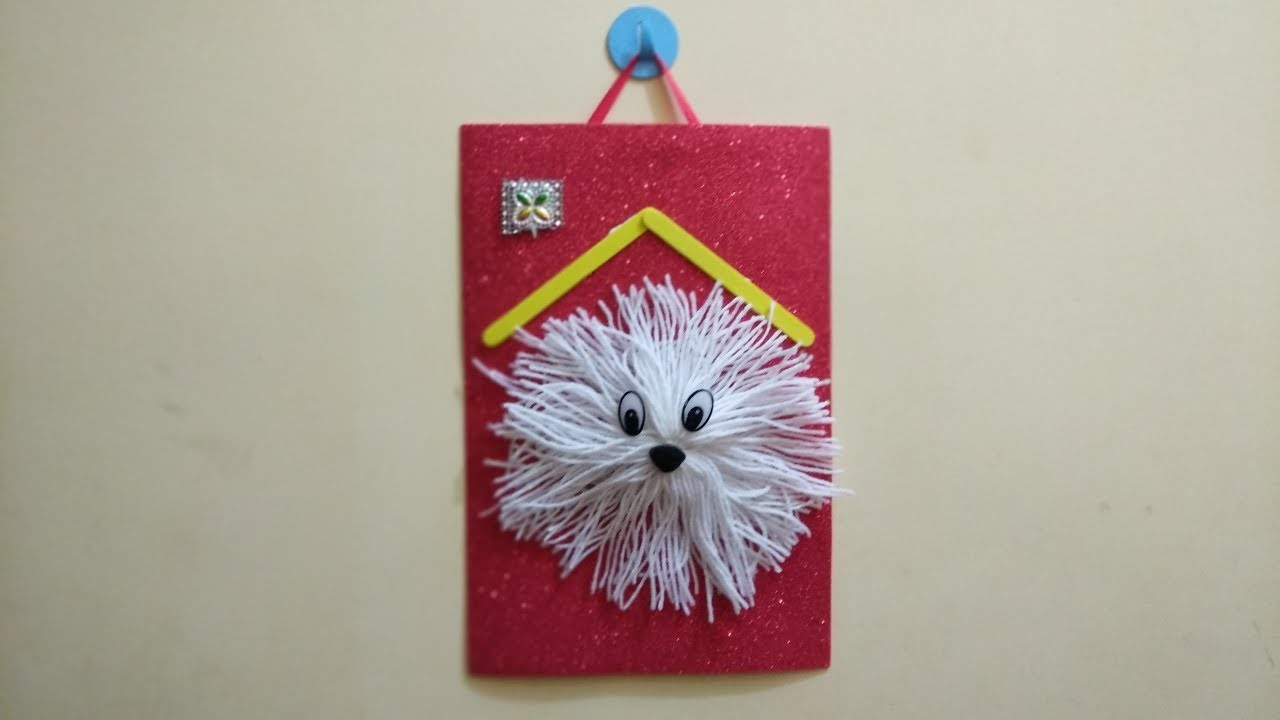 How to make a Wall Hanging Doll Using Woolen Thread | Exclusive