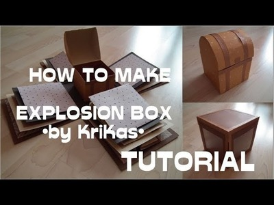 How to make : BEST Explosion Box EVER! by KriKas - video tutorial