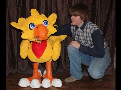 How to Make: Chocobo Puppet (Final Fantasy)