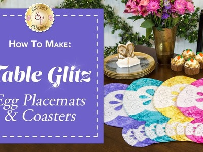 How to Make Easter Egg Placemats & Coasters   A Shabby Fabrics Sewing Tutorial