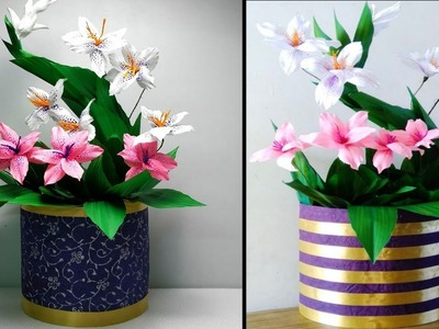 How to make flower bouquet from Duplex Paper | DIY flower bouquet