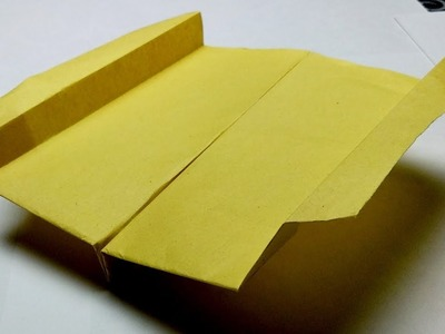 How to make the best paper boomerang plane that comes back to you cool