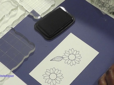 HOW TO STAMP WITH AN ACRYLIC BLOCK FOR BEGINNERS