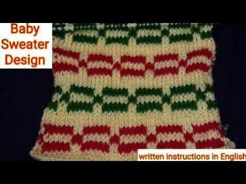Knitting Chain Design Multi Colour Knitting Pattern For Beginners