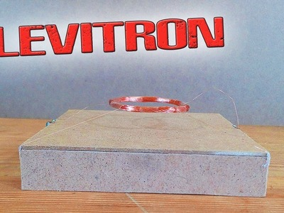 ❇️ Magnetic levitation!!! How to make a coil floating in the air It's easy!!! ❇️