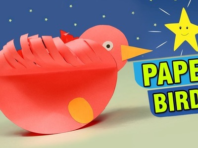 Making Of Paper Birds For Kids | How To Make Paper Birds Crafts | Easy DIY Crafts Ideas For Children