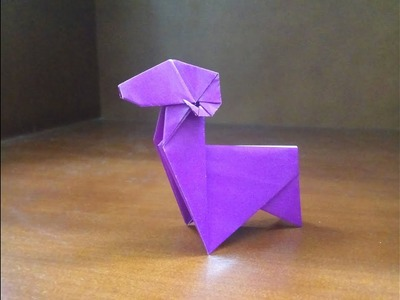 How Origami Goat How To Make Goat Origami Goat How To Make