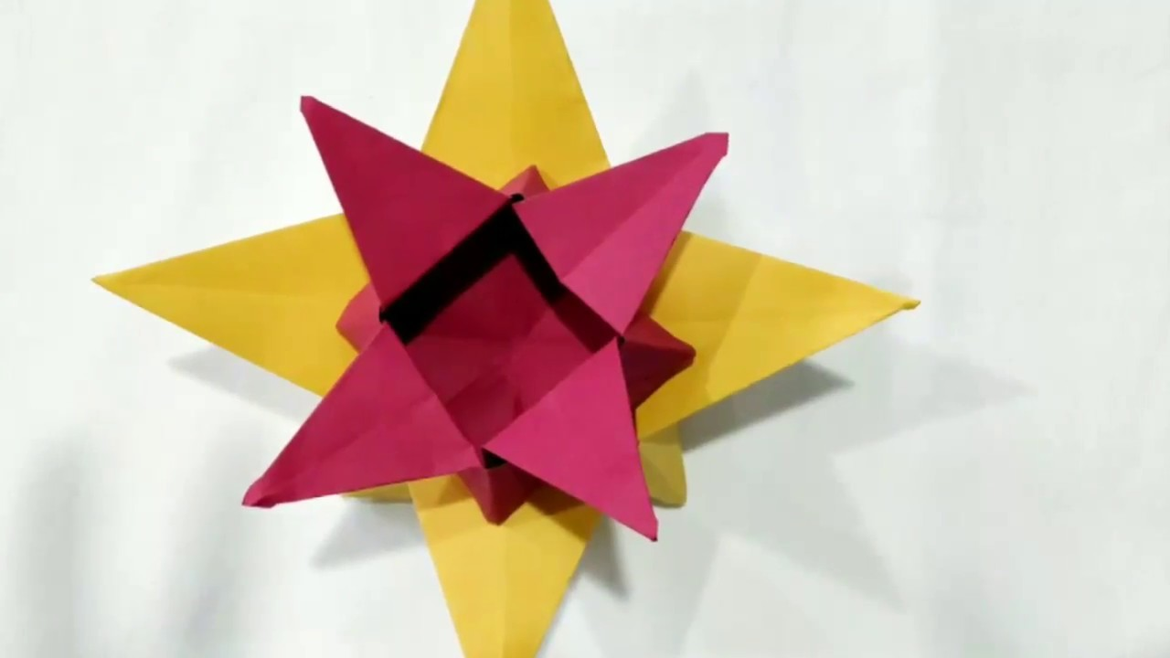 Origami Star Box How To Make Easy Step By Tutorial For Kids