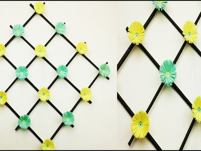 Paper Flower Wall Hanging - DIY Hanging Flower - Wall Decoration Ideas | Remake |