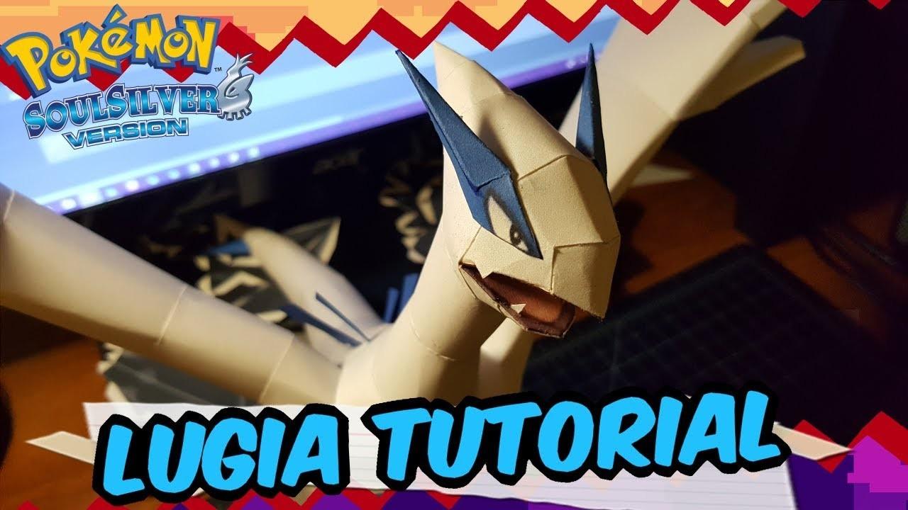 Papercraft Tutorial: How to make Lugia